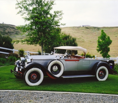 1928 Packard 443 Runabout, Older Restoration!