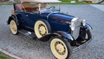 1930 Ford Model A Roadster, Older Full Restoration
