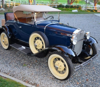 1930 Ford Model A Roadster, Older Full Restoration