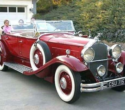 1931 Packard Custom Eight 840 Dual Cowl Phaeton