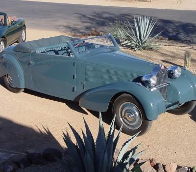 1934 Bugatti Type 57, Gangloff Stelvio Cabriolet, Pebble Beach, Gorgeous!