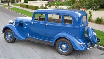 1934 Plymouth PE DeLuxe Sedan, Fully Restored, Beautiful