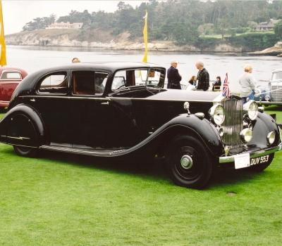 "1937 Rolls Royce Phantom III (3AX79- ""Monty's Rolls"")"