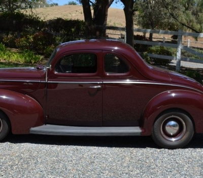 1940 Ford Deluxe Coupe, Custom, Concours Winner, Full Restoration, Owner Past 30 Yrs!!