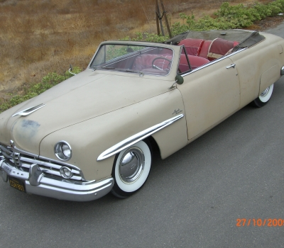 1949 Lincoln Cosmopolitan Convertible- Barn Find!!