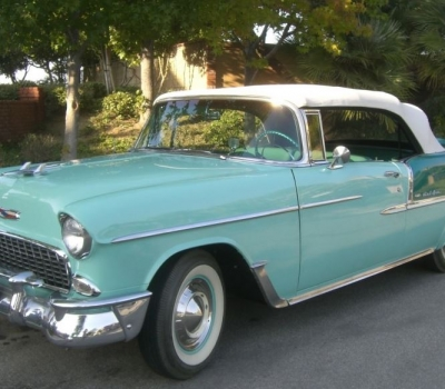 1955 Chevy Bel Air Convertible, Body-Off Concours Restoration, Loaded with Options!