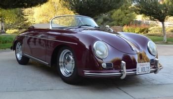 1957 Porsche Beck Speedster Replica, Electric Modification, 2k Miles Since New!!