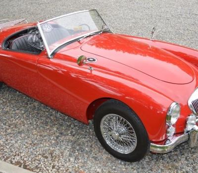 1960 MGA 1600 Mk I Roadster, Gorgeous Concours Restoration, One Prior Owner, 88k Miles, Award Winner!