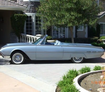 "1962 Ford Thunderbird Convertible, Two Owner, ""Black Plate"" Calif Car, Rotisserie Restored!"