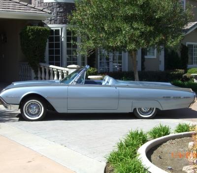 1962 Ford Thunderbird Convertible,Rotisserie Restored!