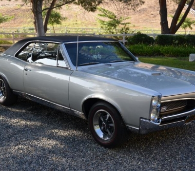 "1967 Pontiac GTO, Calif Since New, ""Black Plate"", Matching Numbers, Beautifully Restored, 1st Owner 41 Yrs!"