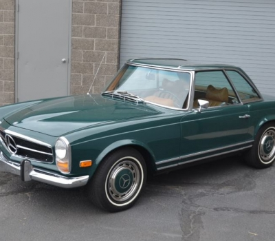 1969 Mercedes 280SL, One Owner, CA Car, 75k Miles, Survivor, Rust Free, Gorgeous!