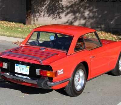 1975 Triumph TR6- 11,350 miles, One Owner!!