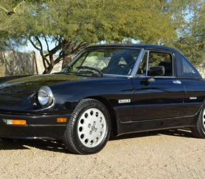 1987 Alfa Romeo Spider Quadrifologio, 45k Miles, Last Owner 24 Years