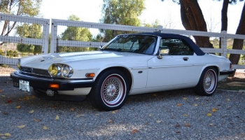 1990 Jaguar XJS Convertible, V12, 52k Miles, CA Car, Gorgeous!
