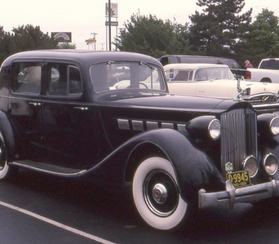 1935 Packard Eight Club Sedan, Fully Restored, Concours or Tour!