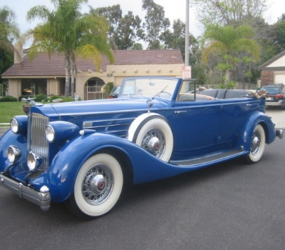 1935 Packard Twelve Convertible Sedan, Older Restoration