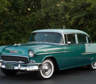 1955 Chevrolet Bel Air, 4 Door Sedan,Fantastic Survivor!