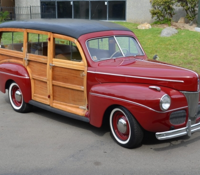 1941 Ford Station Wagon, Woody Deluxe