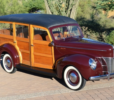 "1940 Ford Deluxe ""Woody"" Station Wagon"