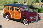 """1940 Ford Deluxe """"Woody"""" Station Wagon"""