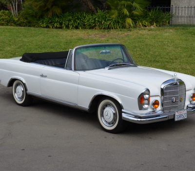 1961 Mercedes 220/250SE