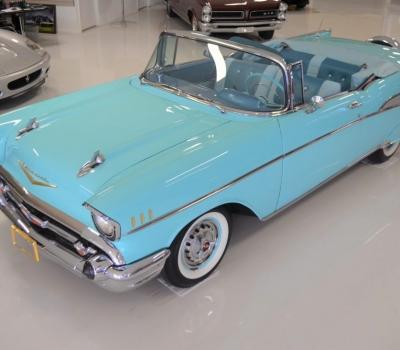 1957 Chevy Bel Air Convertible