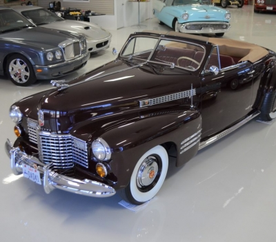 1941 Cadillac Series 62, Convertible Coupe