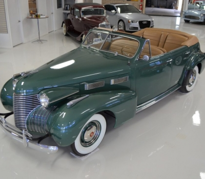1940 Cadillac Series 62 Convertible Sedan