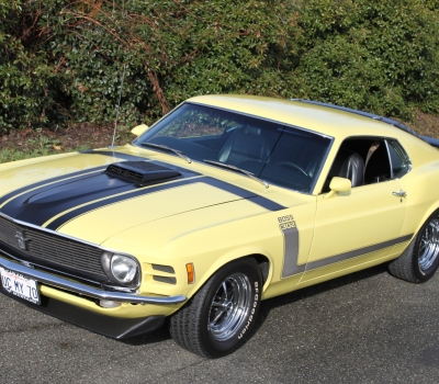 1970 Ford Mustang BOSS 302, Restored