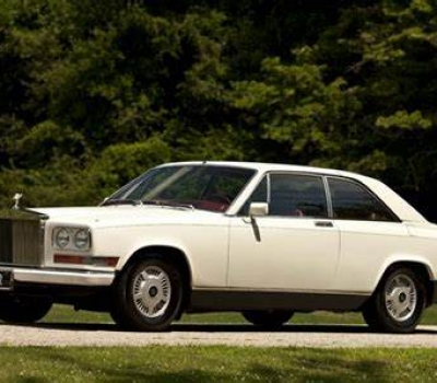 1987 Rolls-Royce Camargue, No. 1 of 12