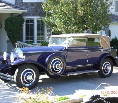 1930 Rolls-Royce Phantom I Newmarket Convertible Sedan, Pebble Beach, etc.
