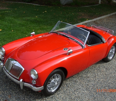 1960 MG A 1600- Concours Winning, CA Black Plate