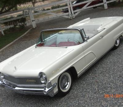 1959 Lincoln Continental Mark IV Conv., Calif. Car