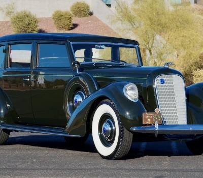 1937 Lincoln K Brunn Limousine