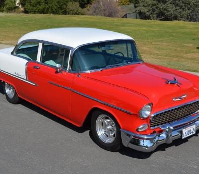 1955 Chevrolet Bel Air Post, 4k Miles, Fabulous!