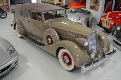 1936 Packard Twelve Convertible Sedan with Division