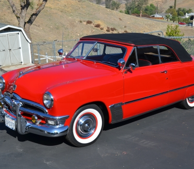 1950 Ford Custom Convertible, Spectacular!
