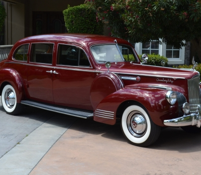 1941 Packard Custom 180 LeBaron Limousine, Award Winning, 1 of 6 Extant!