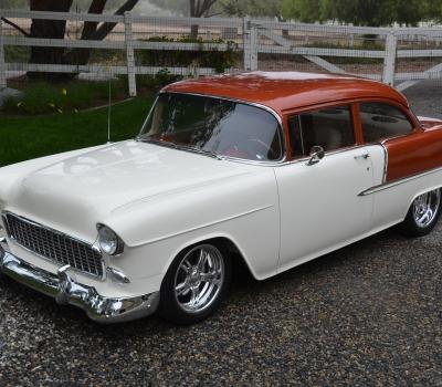 1955 Chevy Two-Door Post Custom, Fresh Build, Gorgeous!