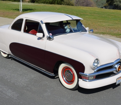 1950 Ford Custom Coupe, CA Car, Restored!