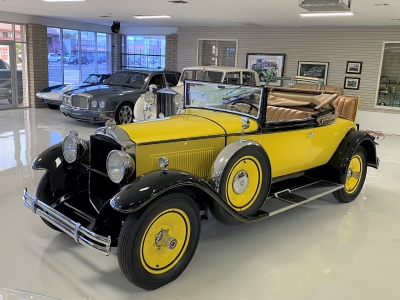 1930 Packard 733 Eight, Convertible Coupe with Rumble Seat