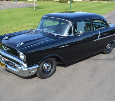 1957 Chevy 150, Ca, Factory Delete, Fully Restored and Gorgeous!