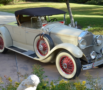 1929 Packard Custom Eight 640 Runabout