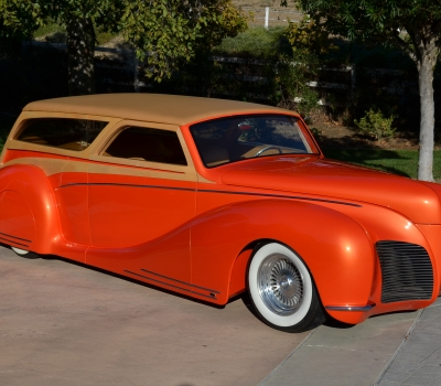 "1939 Lincoln Zephyr Custom Woodie, ""Bone's"" Multi-Awards!!"