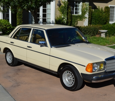 1983 Mercedes 300D, 68k Miles, 1 Owner, Nearly New!!