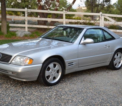 2000 Mercedes SL500, Two Owner, 32k Miles, Nearly as New!