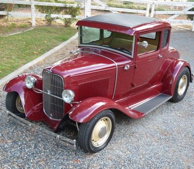 1930 Ford Model A, Custom Coupe, CA Car, Steel, 327, Cool!