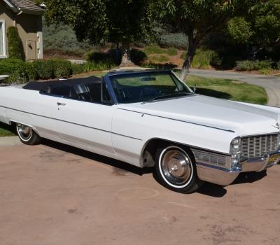 "1965 Cadillac DeVille Convertible, CA ""Black Plate"", Rust Free!"