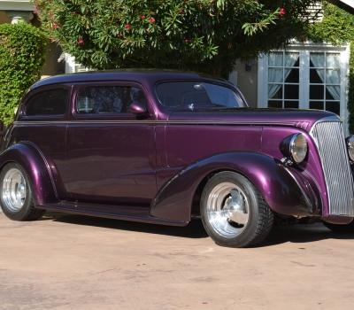 1937 Chevy Custom, Two Door Sedan, Gorgeous $120k Build!